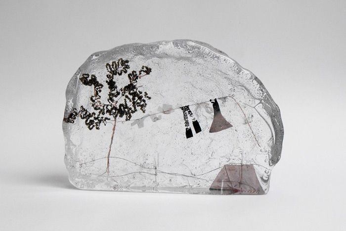 Миниатюры в расплавленном стекле от Дженни Айртона