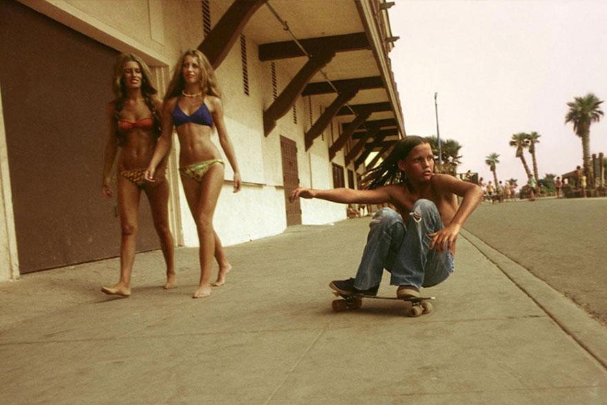Скейт-культура в Калифорнии в 70-х.