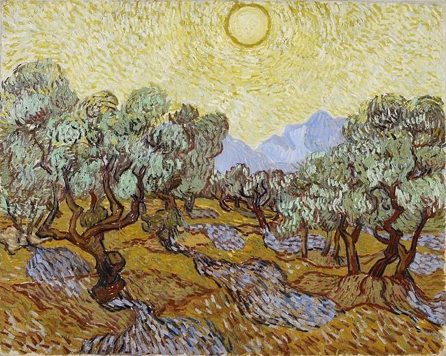 Картин Ван Гога на поле