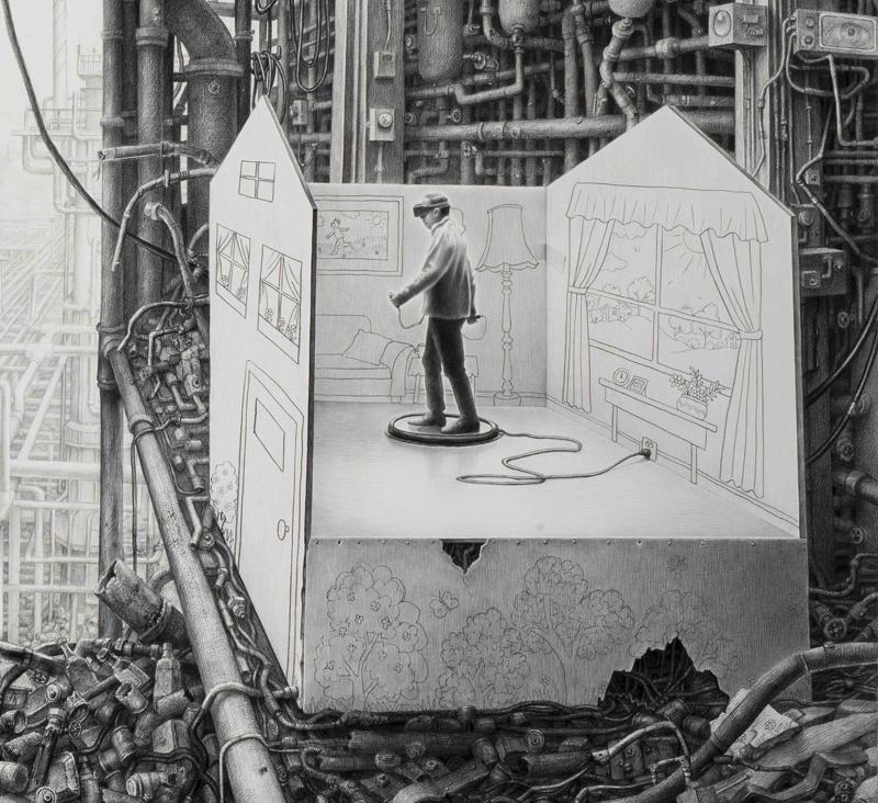 Сюрреалистические миры от Лори Липтон