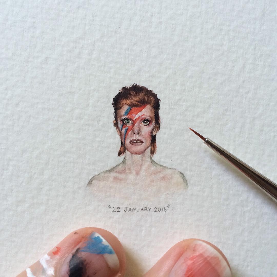 Миниатюрная живопись от Лорейн Лутс (Lorraine Loots).