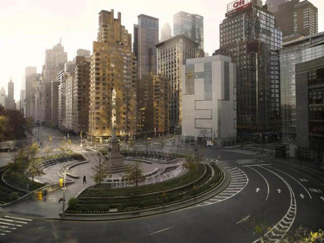 Представьте что ваш город без людей09