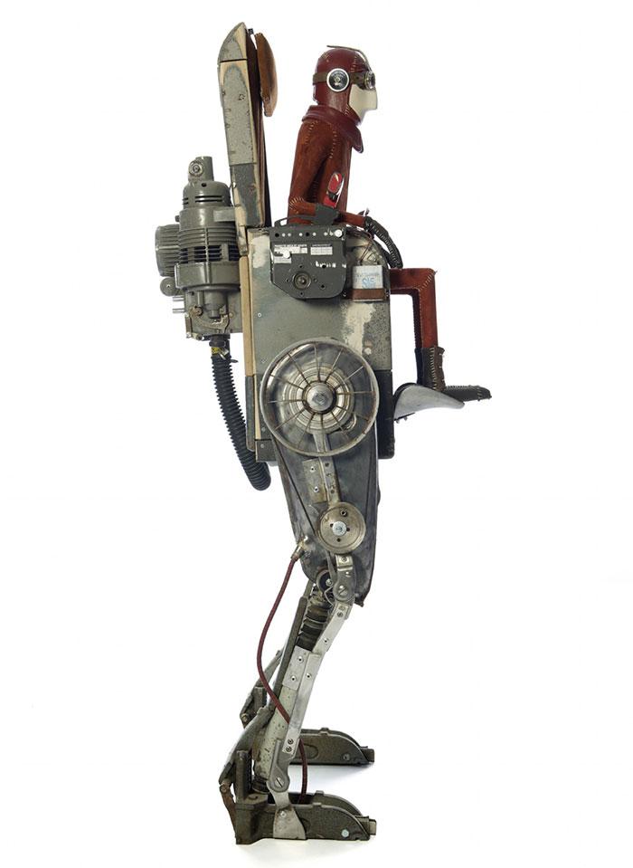 Стимпанк скульптуры от Стефана Халеукса