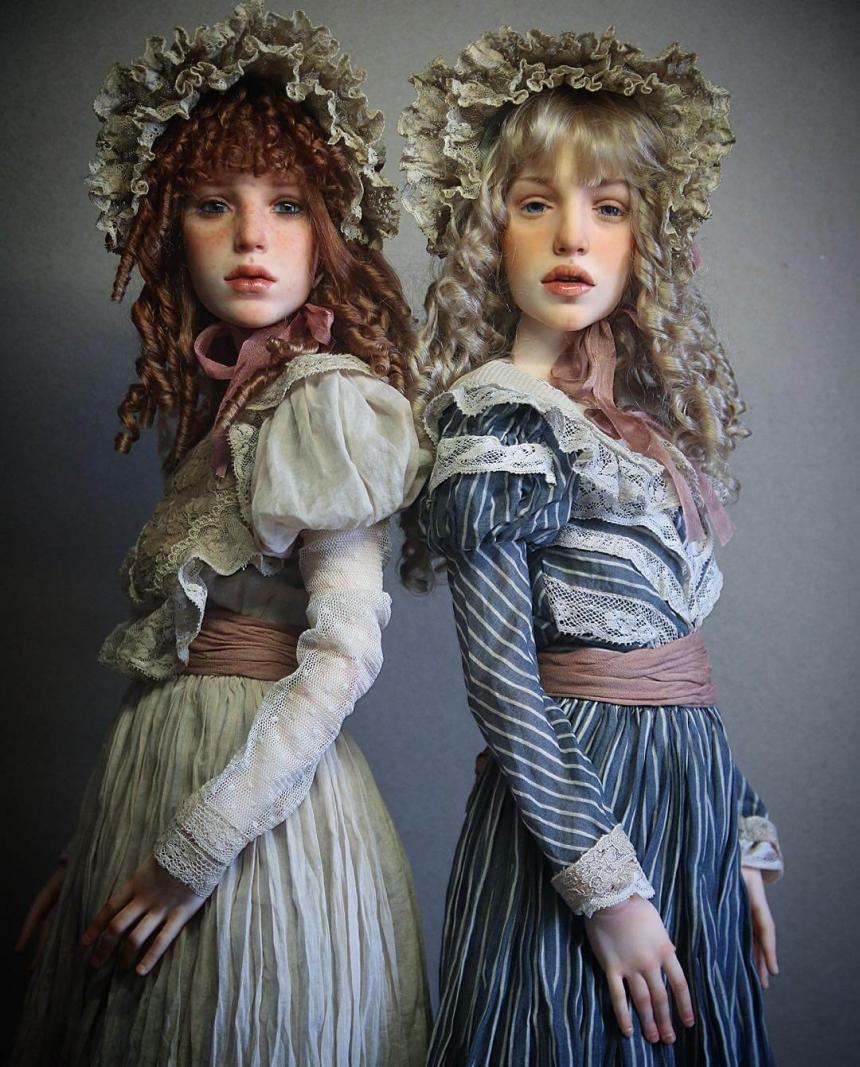 Создание кукольного образа speed painting doll face онлайн 18 фотография