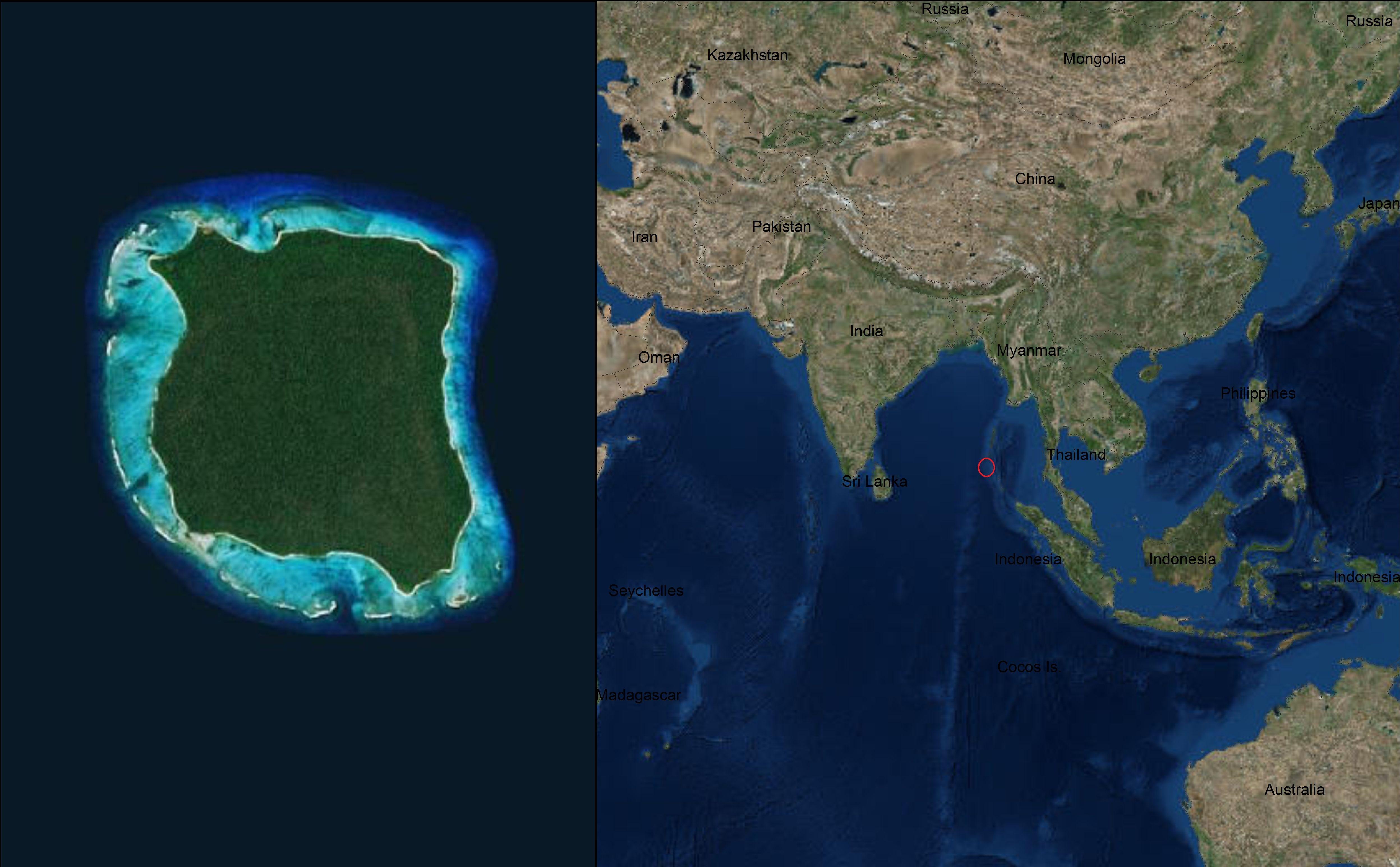 Самые интересные острова на земле.