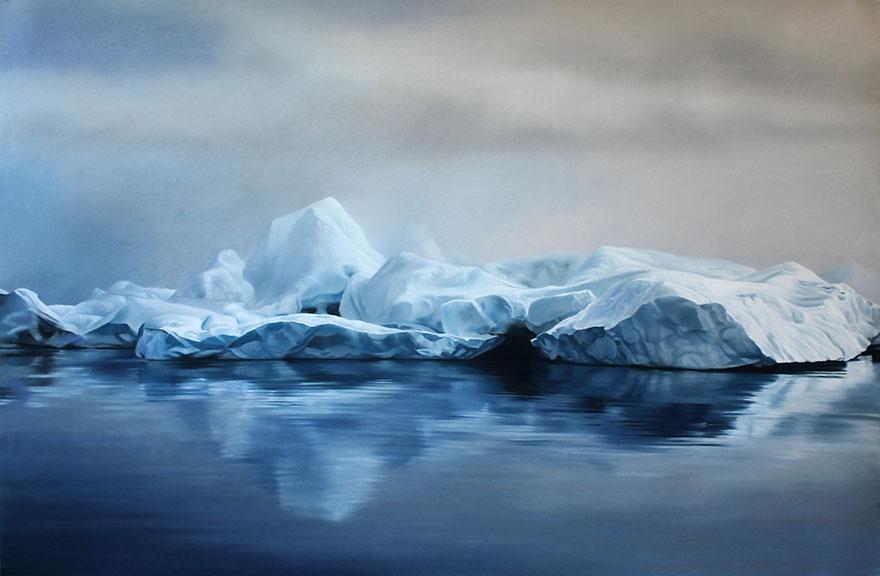 Реалистичные картины от Зарии Форман (Zaria Forman).