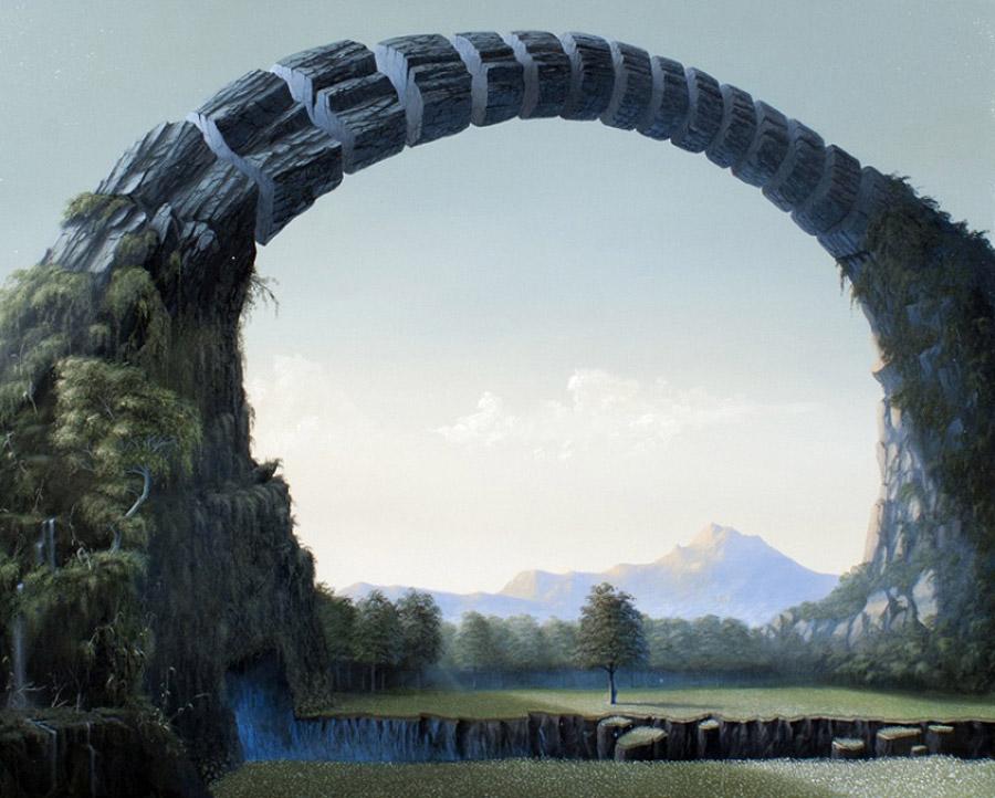 Сюрреалистические ландшафты Паоло Пиби (Paolo Pibi).