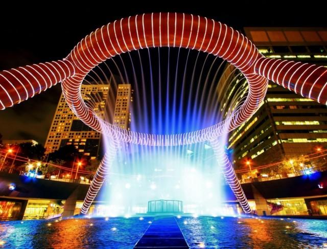 Самые завораживающие фонтаны в мире-12