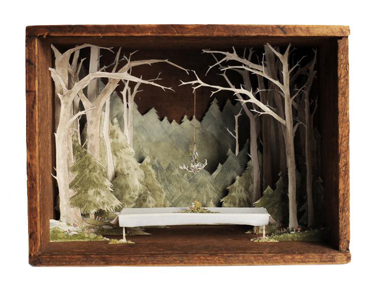 Сказочные антикварные коробки от Эллисон Мей Кипхат (Allison May Kiphuth).