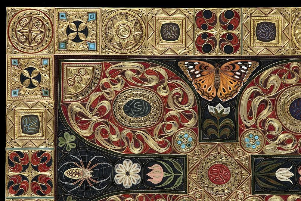 Произведения из скрученной бумаги от Лизы Нильссон (Lisa Nilsson).