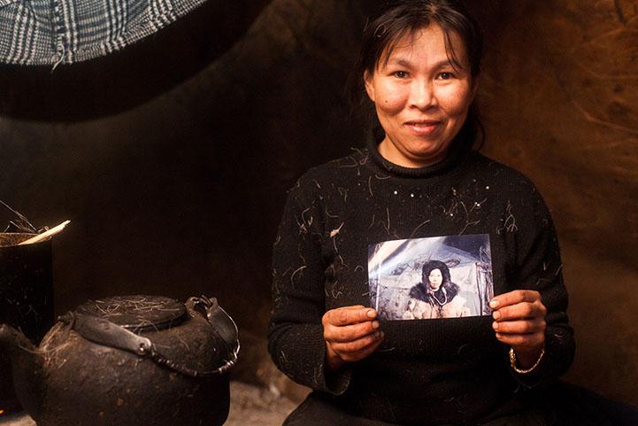 Редкие портреты жителей Чукотки от Александра Ляховченко.