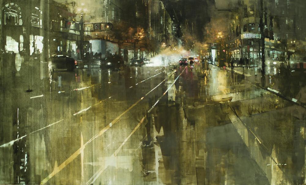 Необыкновенные городские пейзажи Джереми Манна (Jeremy Mann).