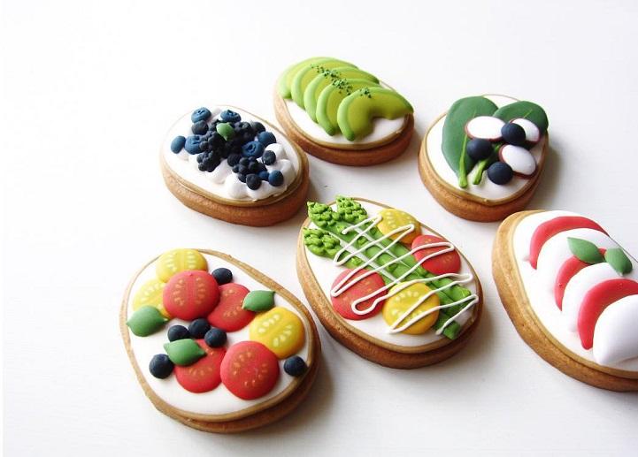 Сахарные печенья от Чихиро Огура (Chihiro Ogura).