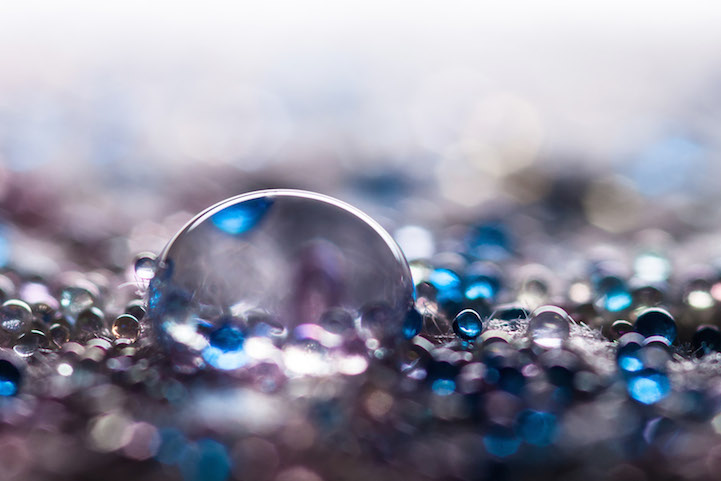 Макро-фотографии капель воды от Шона Кнола (Shawn Knol).