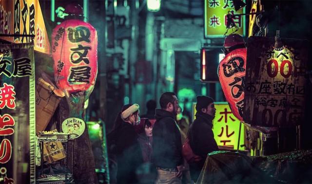 Неоновый Токио в фотографиях Лиама Вонга (Liam Wong).