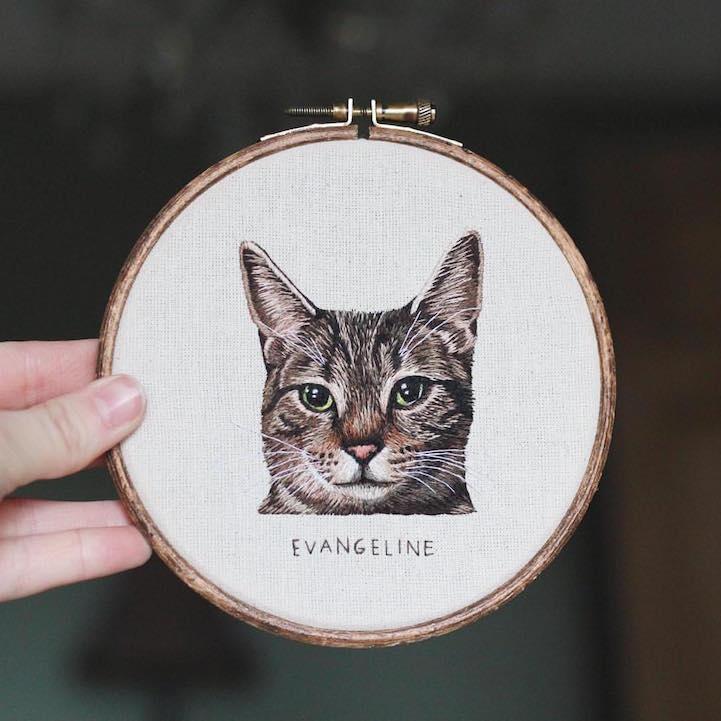 Портреты животных от Эмили Феррис (Emillie Ferris).