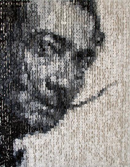 Инсталляции из пуговиц от Агюсто Эскивеля (Augusto Esquivel).