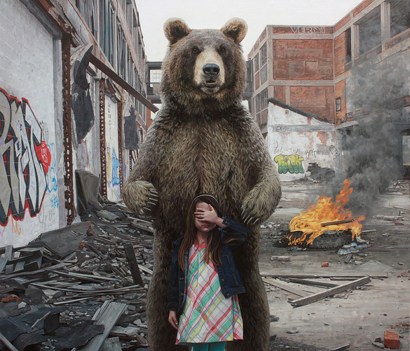 Гиперреалистичные картины Кевина Петерсона