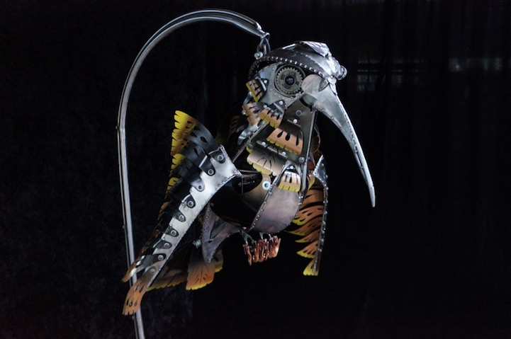 Кинетические скульптуры Криса Коула (Chris Cole).