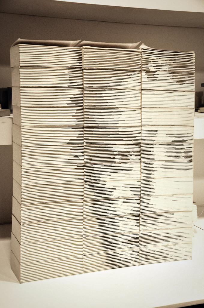 Портреты из повседневных материалов от Хонг Йи (Hong Yi).