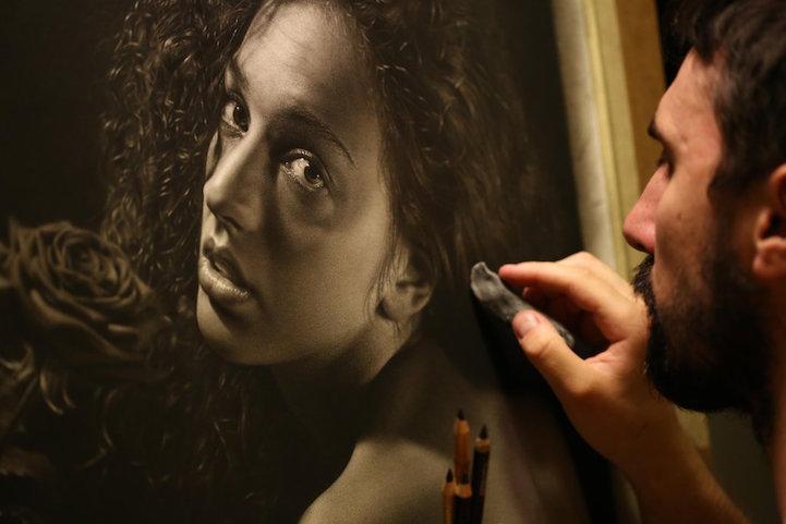 Гиперреалистичные картины от Эмануэле Дасканио (Emanuele Dascanio).