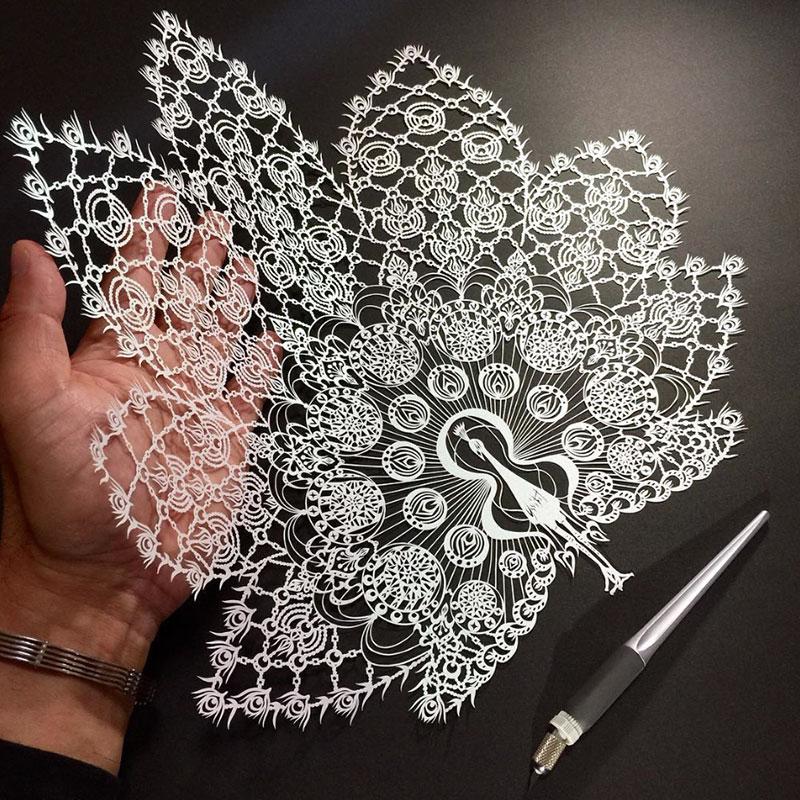 Техника рисования зентагл (zentangle).