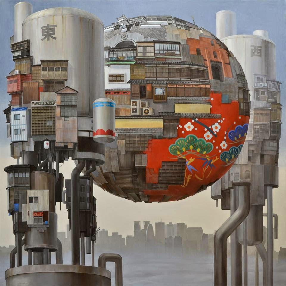 Работы художника Масакатсу Саши (Masakatsu Sashie)