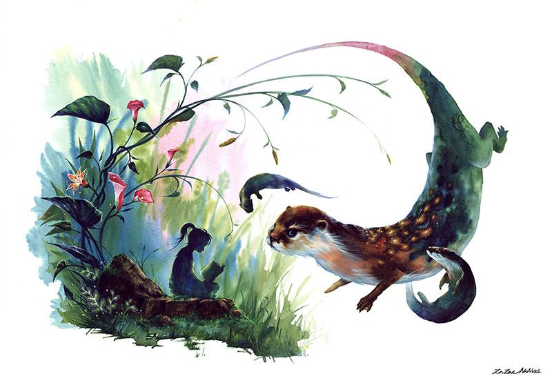 Сказочные картины от Зазака Намоо (Zazac Namoo)