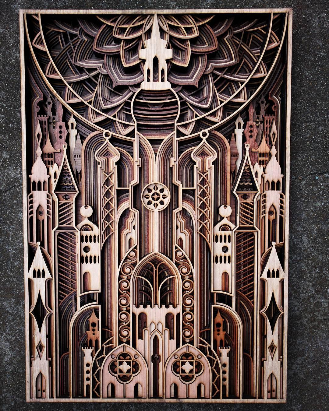 Резьба по дереву от Габриэля Шама (Gabriel Schama)