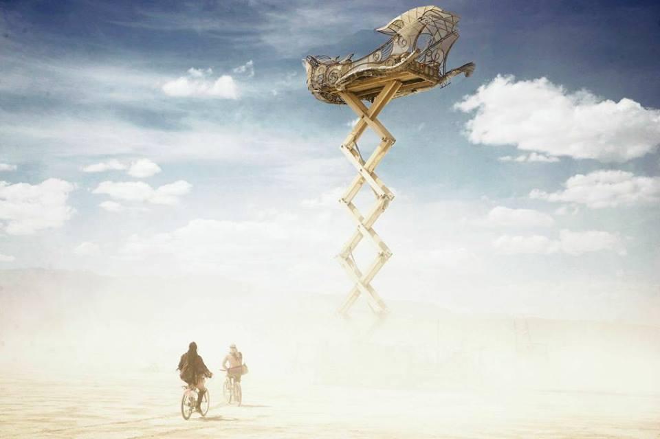 «Burning Man» в фотографиях Виктора Хабчи