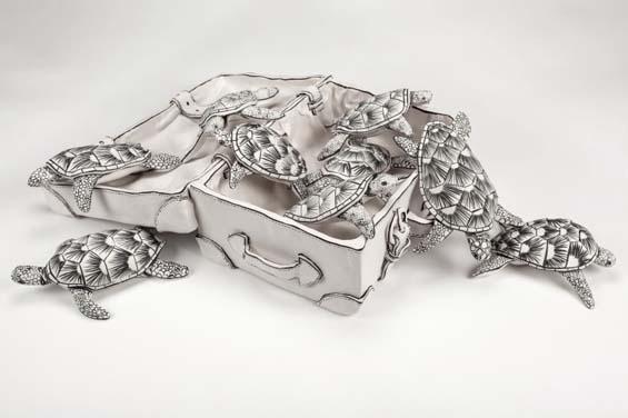 Скульптуры из фарфора от Кэтрин Морлинг