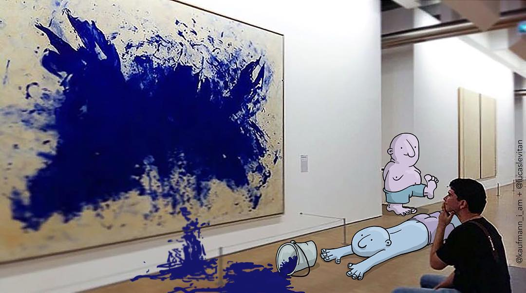 Забавные рисунки Лукаса Левитана (Lucas Levitan)