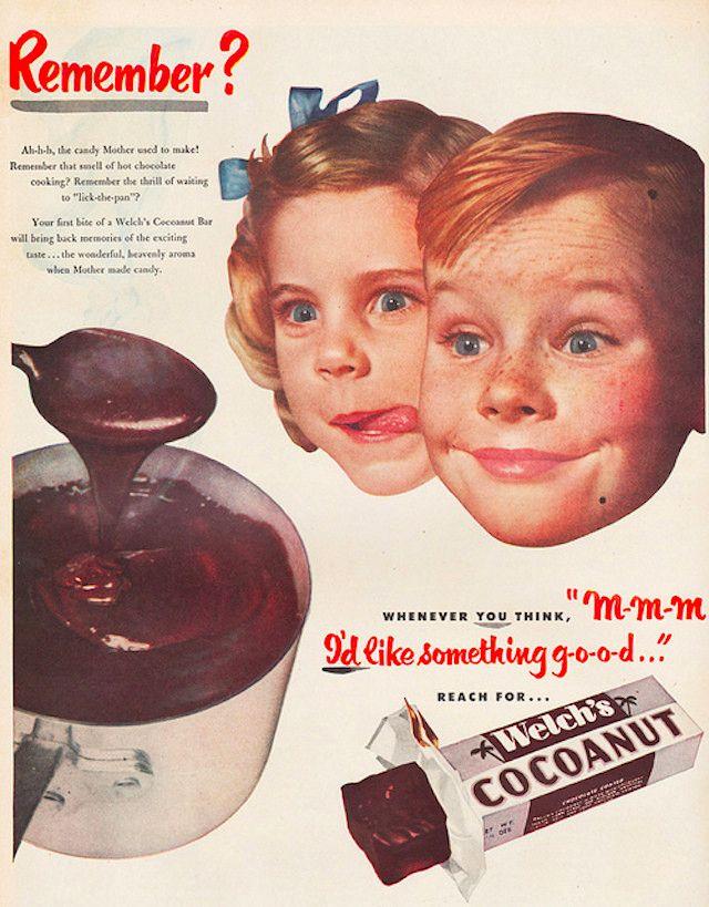 Винтажная печатная реклама