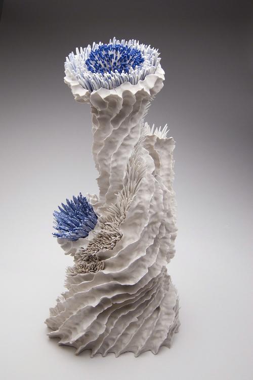 Керамические скульптуры Земер Пелед