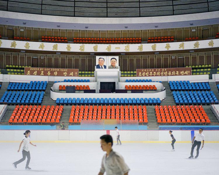 Фотографии Пхеньяна от Рафаэля Оливьера
