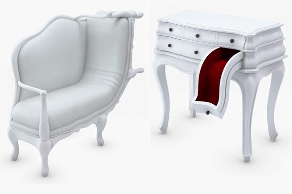 Коллекция креативной мебели