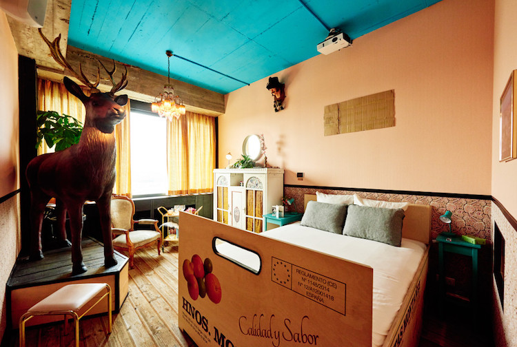 Эклектичный амстердамский отель Volkshotel