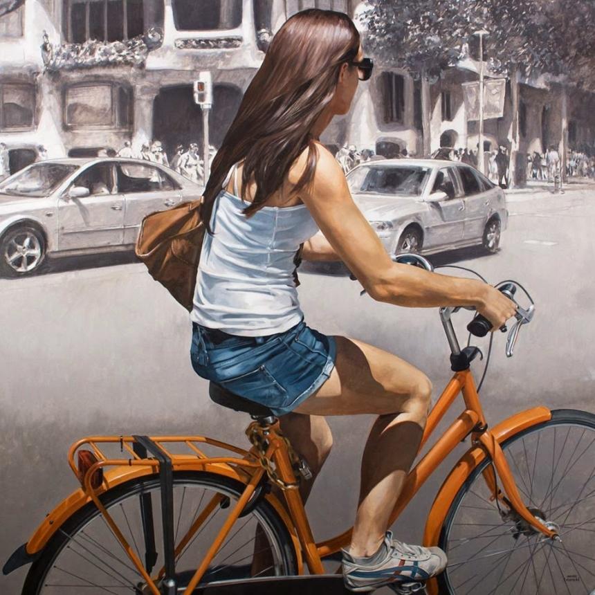 Барселона в картинах Марка Фигераса