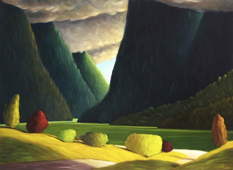 Пейзажи Ванкувера от Росса Пэнхолла