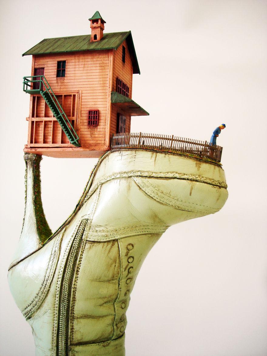Сюрреалистичные скульптуры от Косты Магаракиса