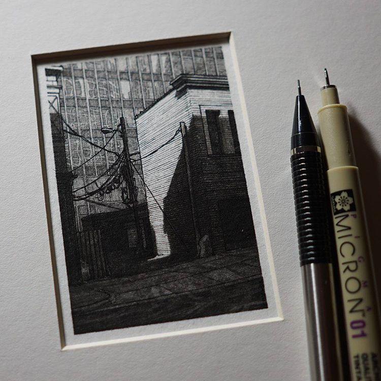 Городские пейзажи в миниатюре от Тейлора Мейзера