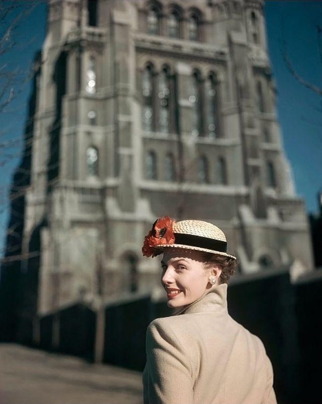 Фотографии западной женской моды 1940-х годов