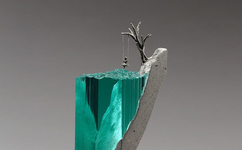 Скульптуры из стекла от Бена Янга