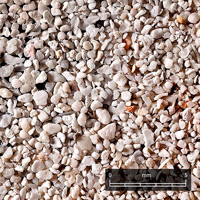 Макро-фотографии песка с различных островов