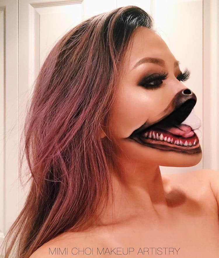 Makeup illusion