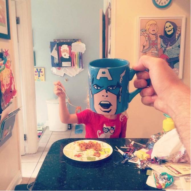 Потрясающе смешные фотографии с завтрака