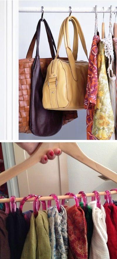 Душевые крючки для развешивания одежды в шкафу