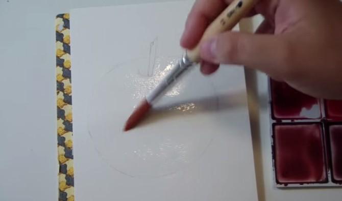 Как научиться рисовать акварельными красками