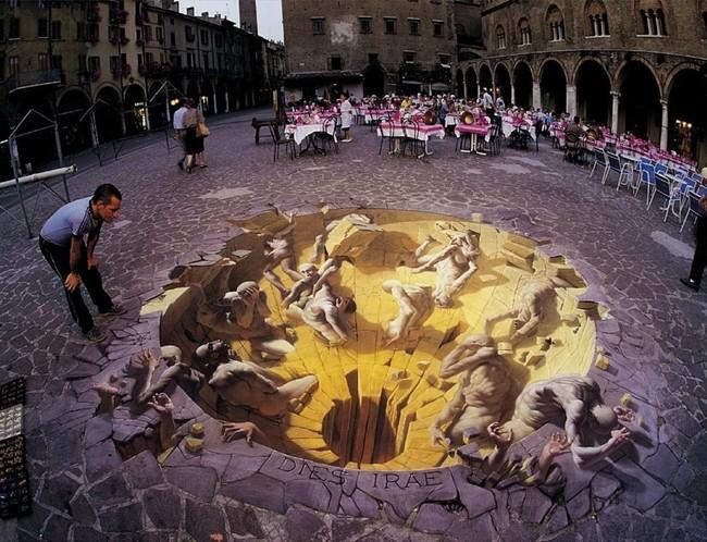 Оптическая иллюзия от Курта Веннера