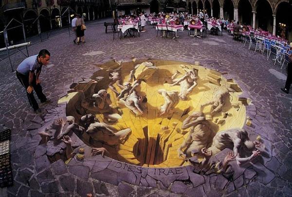 Оптические иллюзии от Курта Веннера, создающие головокружительное ощущение